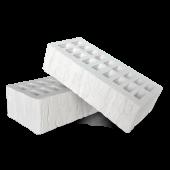 Кирпич облицовочный Белый Cortex, Красная Гвардия