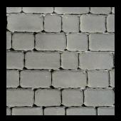 Тротуарная плитка Ривьера, Серый BRAER