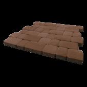 """Тротуарная плитка """"Инсбрук Альт"""" коричневый, гладкая Artstein"""