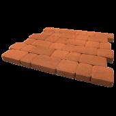"""Тротуарная плитка """"Инсбрук Альт"""" оранжевый, гладкая Artstein"""