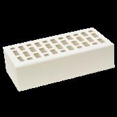 Кирпич облицовочный белый гладкий 1 НФ ЛСР