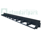 Бордюр ландшафтный пластиковый, высота 60 мм, Стандартпарк