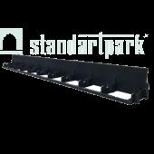 Бордюр ландшафтный пластиковый, высота 80 мм, Стандартпарк