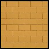 """Тротуарная плитка """"Прямоугольник Лайн"""" желтый, гладкая Artstein"""