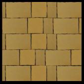 Тротуарная плитка Старый город жёлтый, гладкая, Artstein