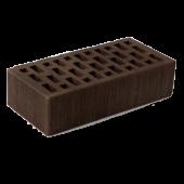 Кирпич облицовочный темно-коричневый тростник 1 НФ ЛСР