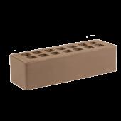 Кирпич облицовочный Железногорский тёмно-коричневый гладкий 0.7НФ