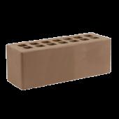 Кирпич облицовочный Железногорский тёмно-коричневый гладкий 0.96НФ
