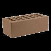 Кирпич облицовочный Железногорский тёмно-коричневый гладкий 1.4НФ
